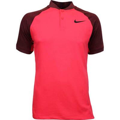 Nike Golf Shirt NK Dry Raglan Blade Siren Red AW17