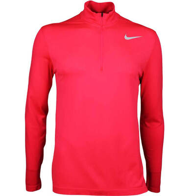 Nike Golf Pullover NK Dry Knit Half Zip Siren Red AW17