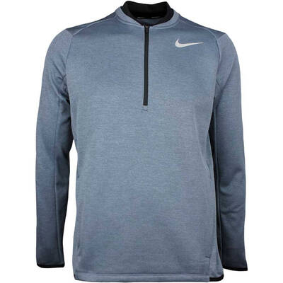 Nike Golf Pullover Therma Fit Half Zip Armory Navy AW17