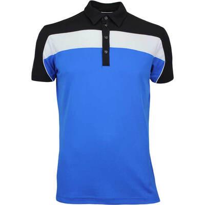 Galvin Green Golf Shirt MANNY Ventil8 Kings Blue AW17