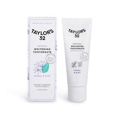 Taylor's 32 Natural Whitening Toothpaste Fennel & Mint 75ml