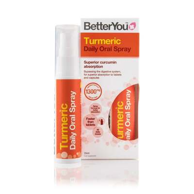 BetterYou Daily Turmeric Oral Spray 25ml