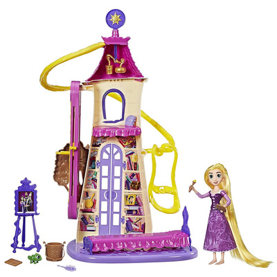 Disney Princess Tangled The Series Swinging Locks Castle Playset