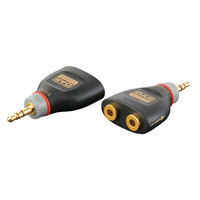 DAP Adaptor Mini Jack Stereo To 2 X Mini Jack Female