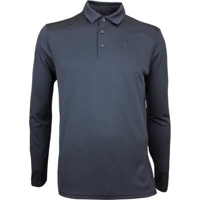Peak Performance Golf Shirt Versec LS Black AW17