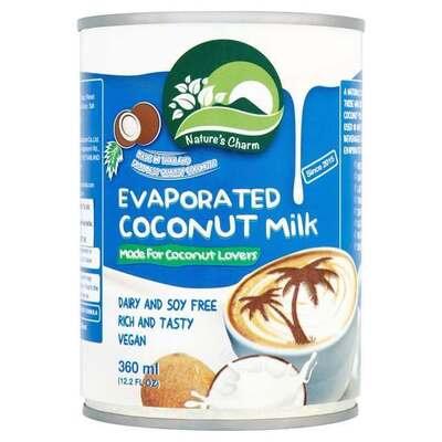 Nature's Charm Evaporated Coconut Milk 360ml
