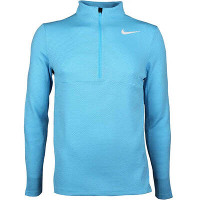 Nike Golf Pullover Aeroreact Half Zip Blue Fury AW17