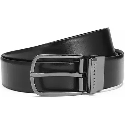 Hugo Boss Golf Belt Owen G Reversible Black Brown PS18