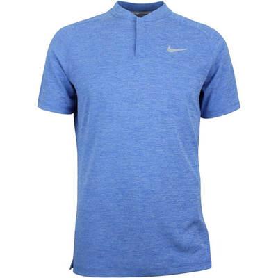 Nike Golf Shirt Aeroreact Momentum Blade Blue Nebula SS18