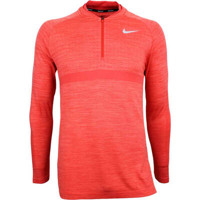 Nike Golf Pullover NK Dry Knit SMLSS Rush Coral SS18
