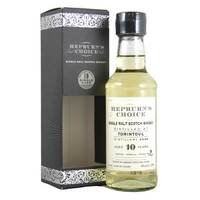 Tomintoul 2006 10 Year Old Hepburns Choice 20cl
