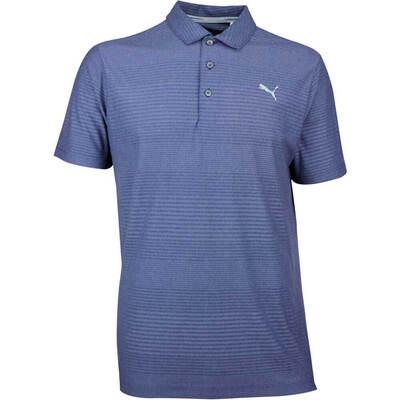 Puma Golf Shirt Aston Peacoat AW18