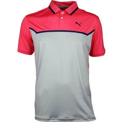 Puma Golf Shirt Bonded Tech Paradise Pink SS18