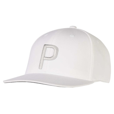 Puma Golf Cap P 110 Snapback Bright White AW19