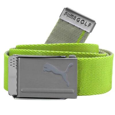 Puma Golf Belt Reversible Web Acid Lime Quarry SS18