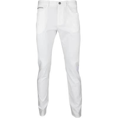 Hugo Boss Golf Trousers Lester 20 Chino Training White SP18
