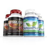 Image of Hiprolean X-S Caffeine Free Fat Burner Cleanse Combo Pack - 2 Month Supply