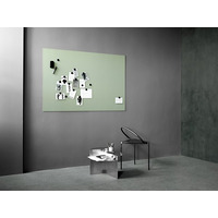 Image of Mood Wall Silk Glass board 1250 x 1000mm Excited