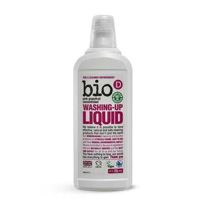 Bio-D Washing Up Liquid with Grapefruit 750ml