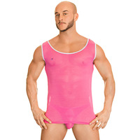 Joe Snyder Sheer Mesh Colour Tank Top 21