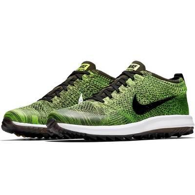 Nike Golf Shoes Flyknit Racer G Volt Black 2018