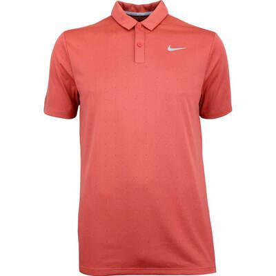 Nike Golf Shirt NK Breathe Micro Dot Rush Coral SS18