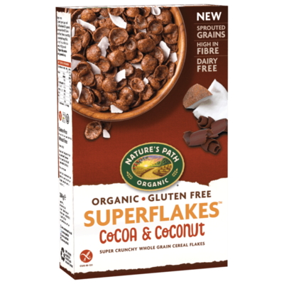 Nature's Path Cocoa & Coconut Superflakes 284g