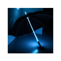 Rainbow LED Multi Colour Changing Umbrella with LED Torch in Handle