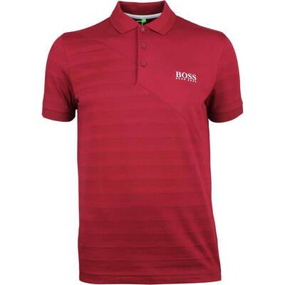 Hugo Boss Golf Shirt Paddy Pro 2 Rhubarb FA18