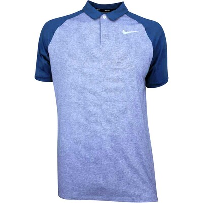 Nike Golf Shirt NK Dry Raglan Royal Tint AW18