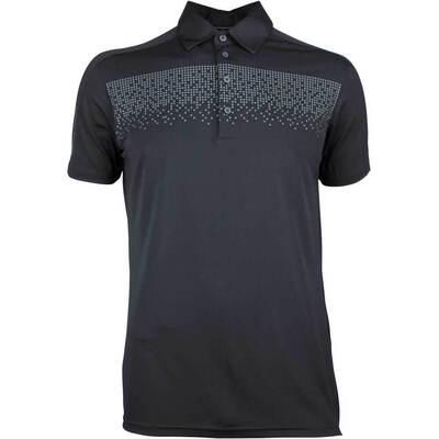 Galvin Green Golf Shirt Marcel Black AW18