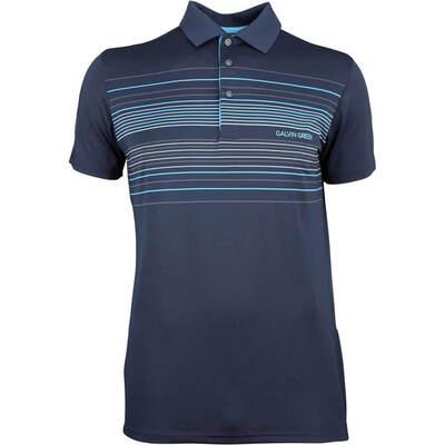 Galvin Green Golf Shirt Mateo Navy AW18