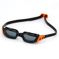 Aqua Sphere Kameleon Junior Swimming Goggles - Black/Orange, Smoke
