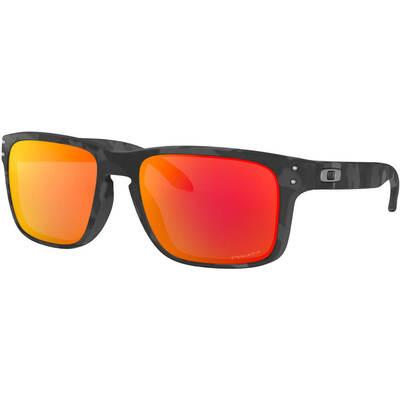 Oakley Golf Sunglasses Holbrook Black Camo Ruby Prizm 2018