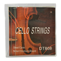 1/2 Cello String Set Nickel Chromium Wound with Steel Core by Sotendo