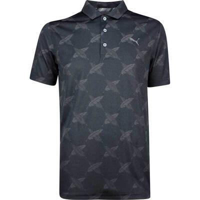 PUMA Golf Shirt Alterknit Palms Black LE SS19