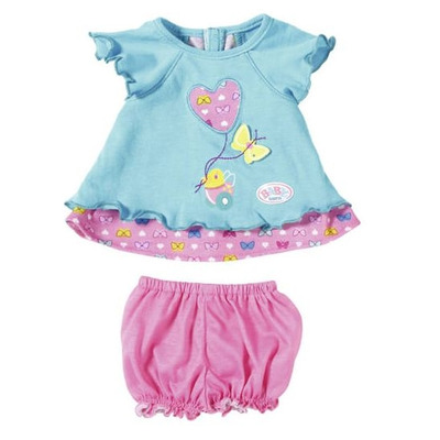 Baby Born Baby Dresses Butterfly (Turquoise)