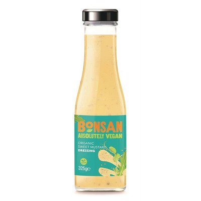 Bonsan Absolutely Vegan Organic Sweet Mustard Dressing 325ml