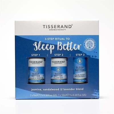 Tisserand 3 Step Ritual To Sleep Better