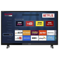 """Image of Sharp 40"""" LED Smart TV Full HD 1080p With Freeview Play HD + Netflix & PVR"""