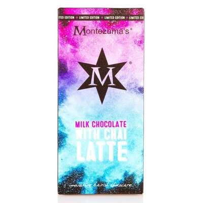 Montezumas Milk Chocolate Bar with Chai Latte 100g