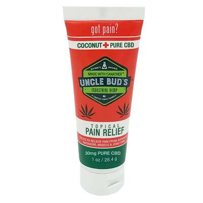Uncle Buds Pure CBD Topical Pain Reliever 30ml