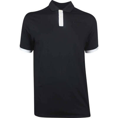 Nike Golf Shirt Vapor Solid Black AW19