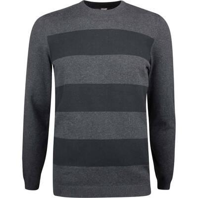 Adidas Golf Jumper Blended Crew Sweater Black Heather SS19