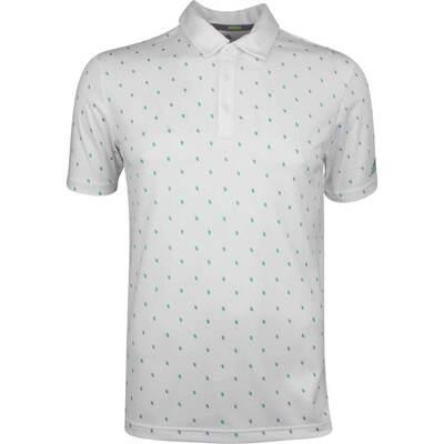 Adidas Golf Shirt Core Printed Polo White SS19