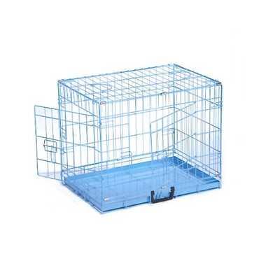 Dog Cage - Blue / Pink