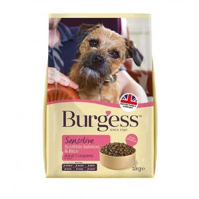 Burgess Sensitive Adult Dog Food 12.5kg