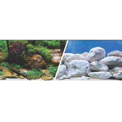 Marina Clear View Double Sided Aquarium Backgrounds 12