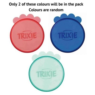 Trixie Plastic Pet Food Tin Covers