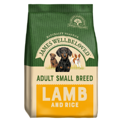 James Wellbeloved Small Breed Adult Lamb & Rice